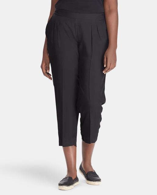 Todo sobre los pantalones plus size - pantalones cropped tallas grandes