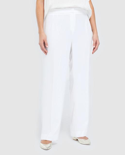 Todo sobre los pantalones plus size - pantalones tallas grandes blanco