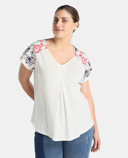 Cómo vestir camisetas de tallas grandes - camisetas estampadas tallas grandes