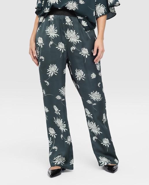Todo sobre los pantalones plus size - pantalones tallas grandes estampados