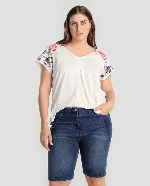 2537804356a Todo sobre los pantalones plus size - bermudas vaqueras tallas grandes