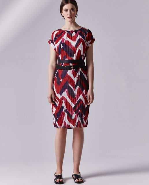 Vestidos tallas grandes - vestido estampado