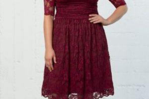 vestido coctel tallas grandes
