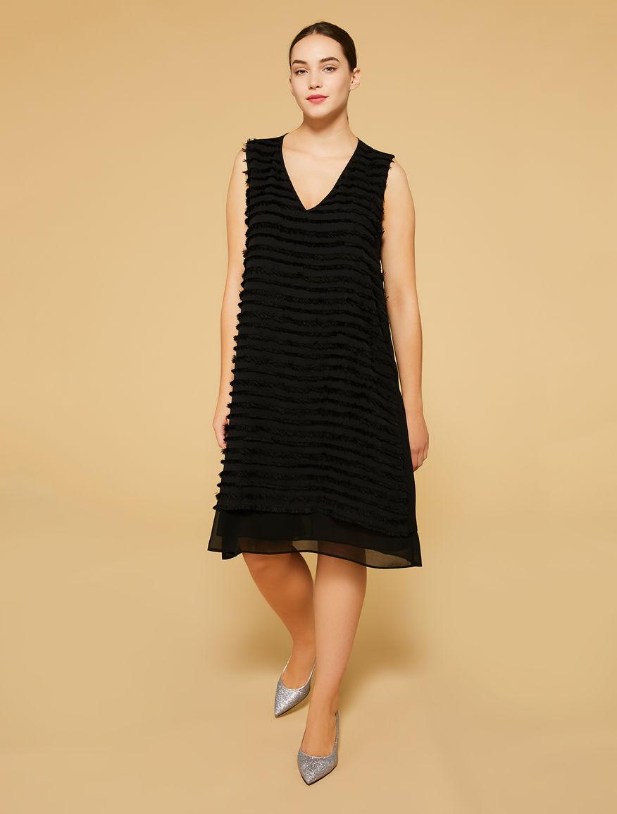 Vestidos elegantes en tallas grandes - vestidos de fiesta negros