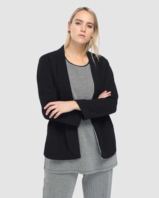 Blazers para ir a la oficina - blazer negra