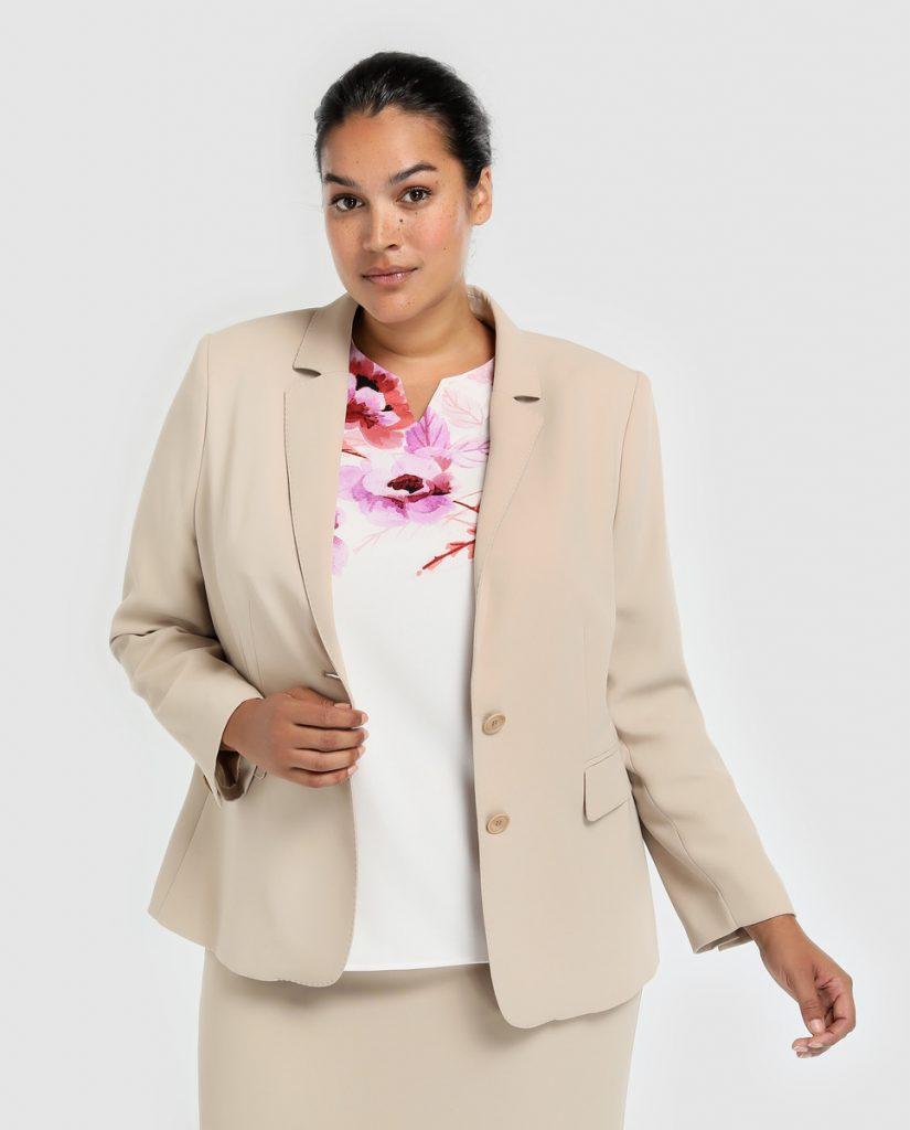Blazers para ir a la oficina - blazer beige
