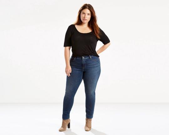 slim jeans talla grande
