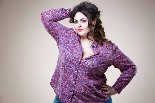 blusa casual talla grande