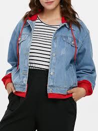 chaqueta jean talla grande