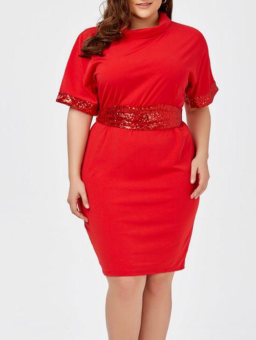fajin vestido talla grande