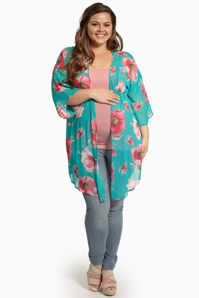 kimono casual talla grande