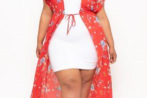 kimono mujer talla grande