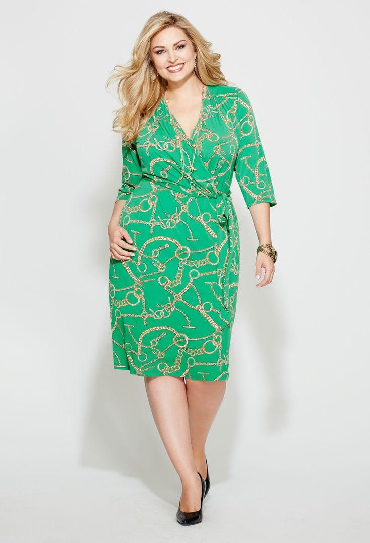 vestido colorido talla grande