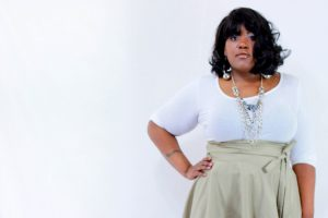 Falda corta o larga talla grande