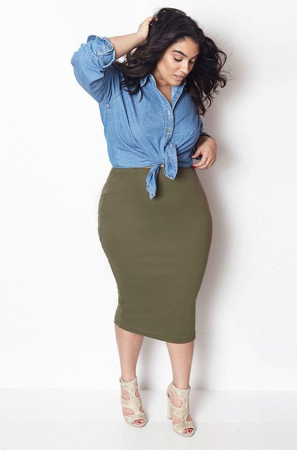 Mujer talla grande ropa internet