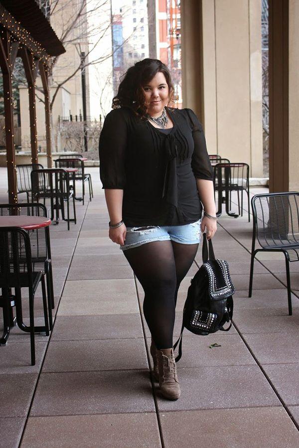 Pantis medias para chicas curvy