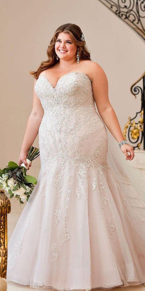 Vestido plus size gordita novia
