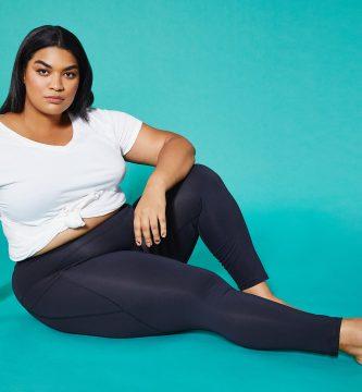 Como combinar esos leggings en plus size