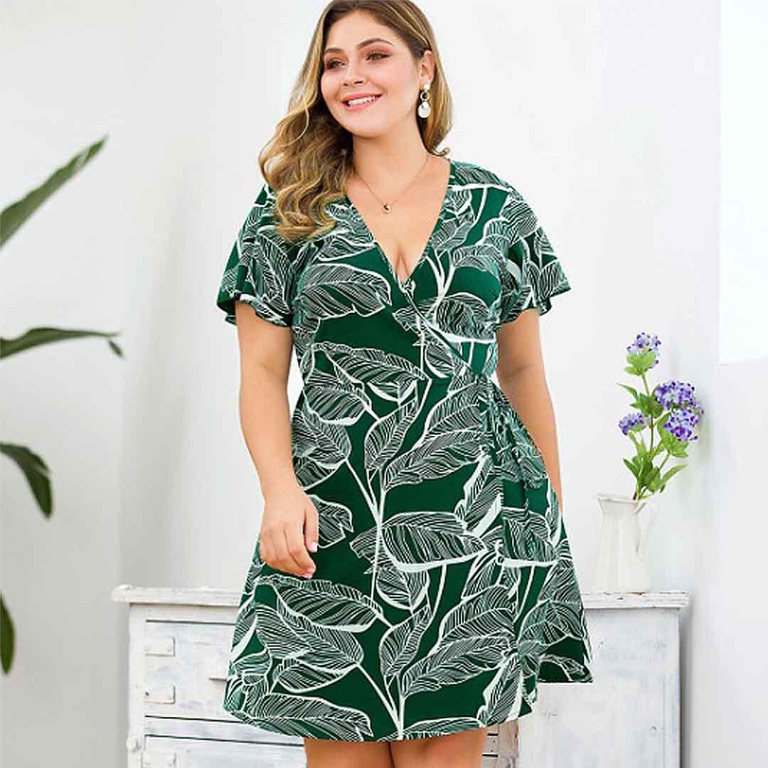 Escoger un bonito vestido casual para chica curvy