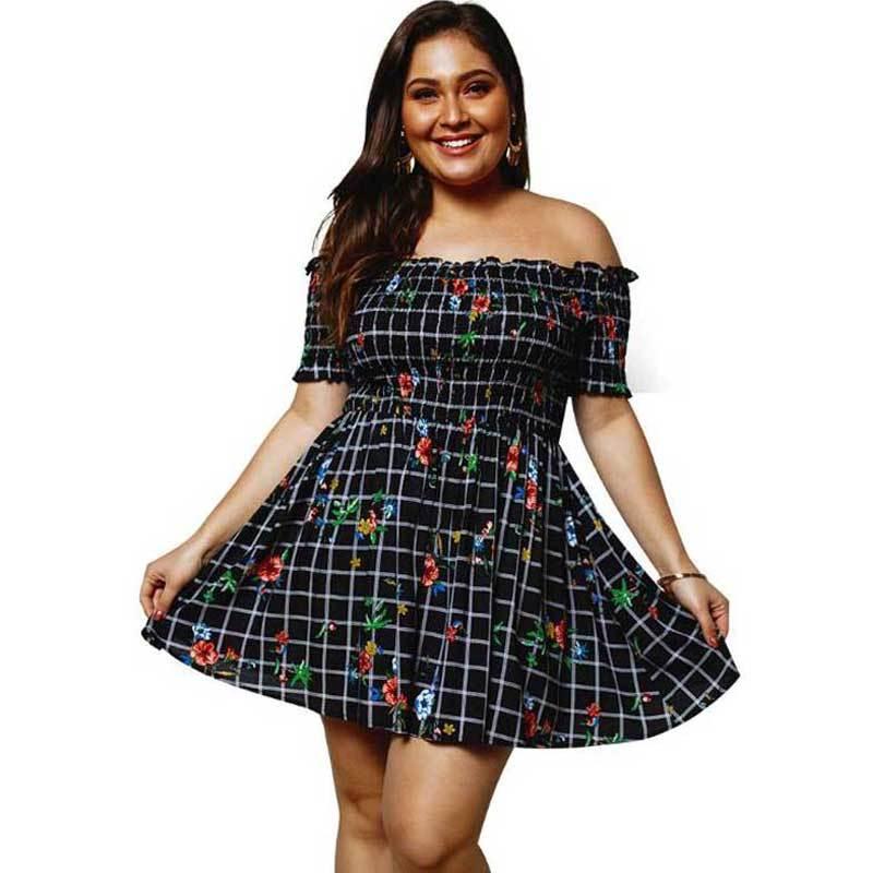 Mejores vestidos cortos para chicas de talla plus