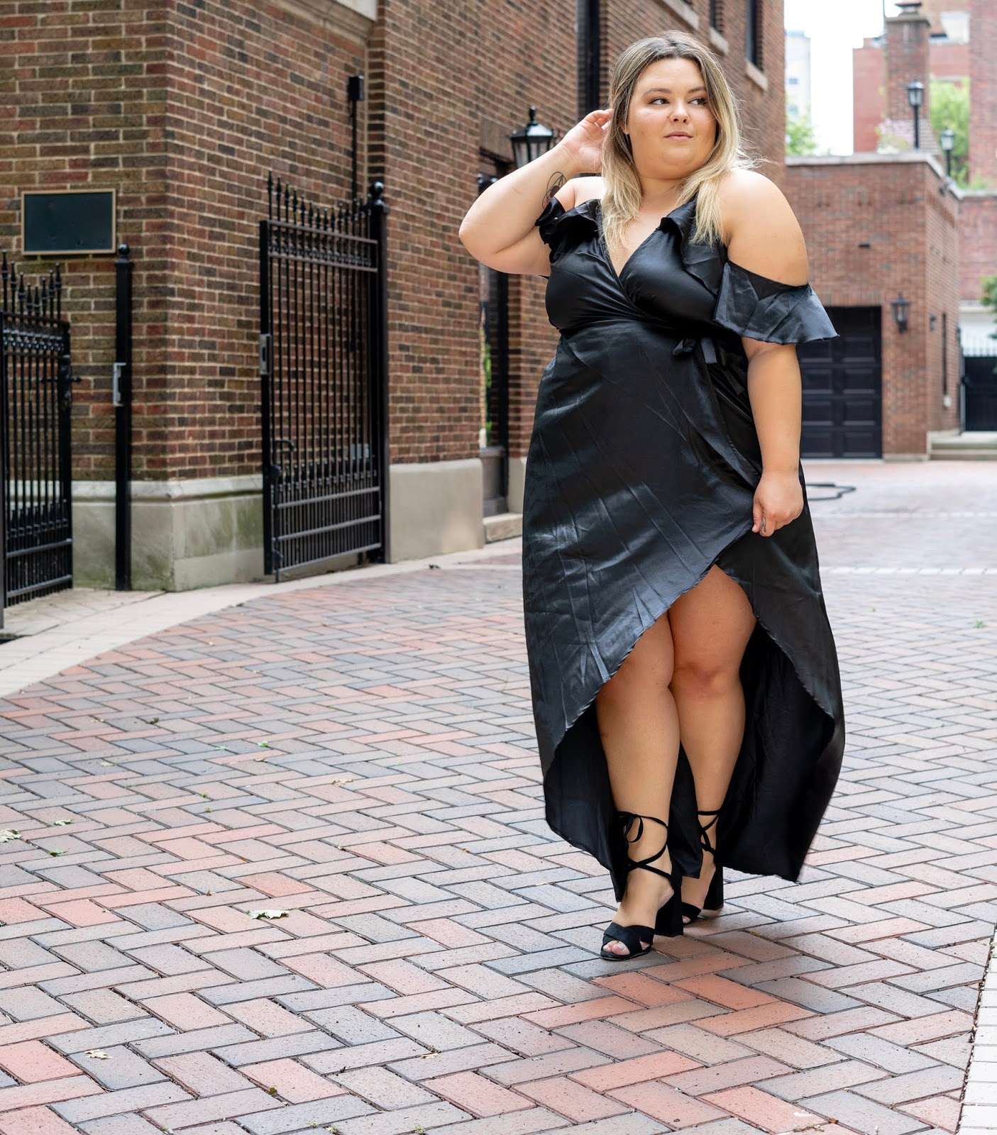 Vestido sensual talla grande