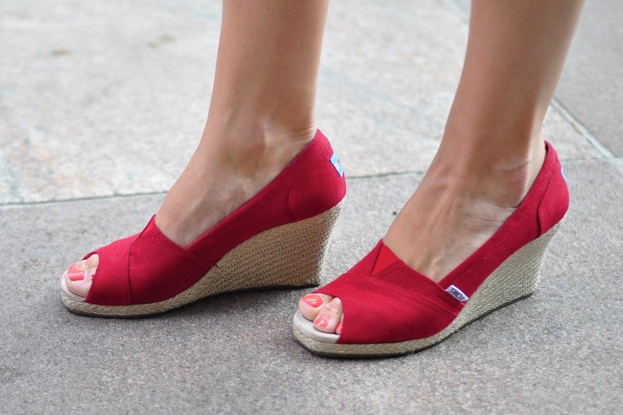 calzado gorditas zapatos rojo