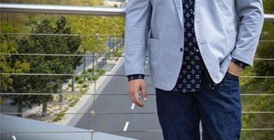 hombre sobrepeso look elegancia
