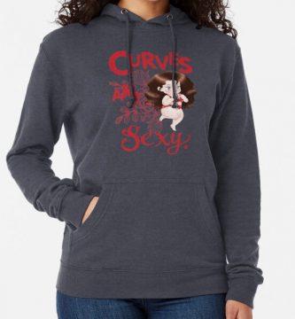 moda hoodies mujer gordita