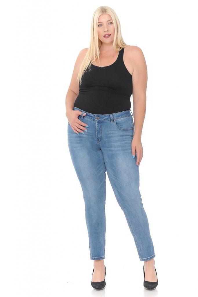 jeans talla plus mujer