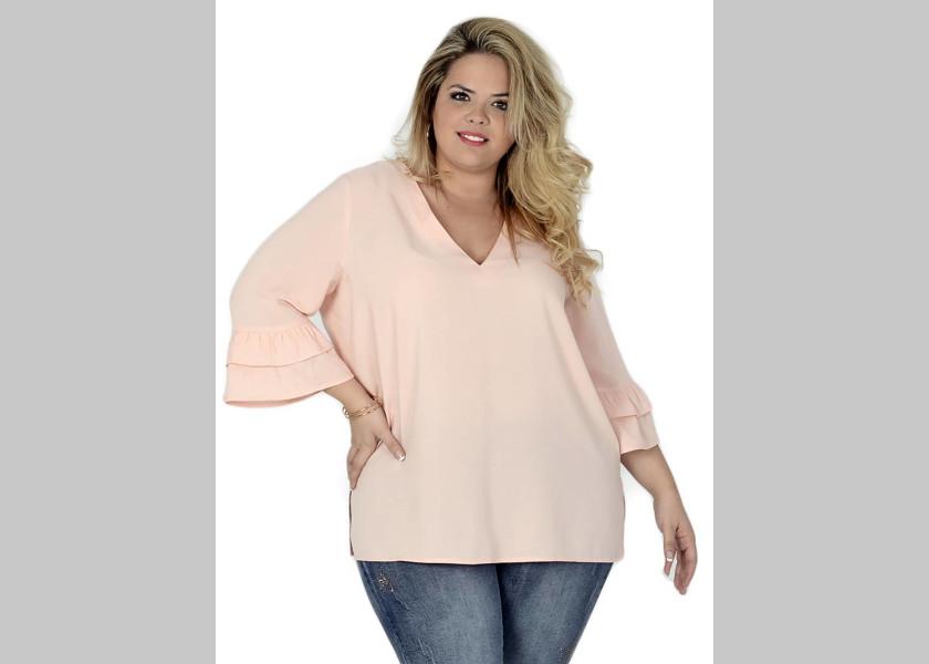 blusa taille plus moderna