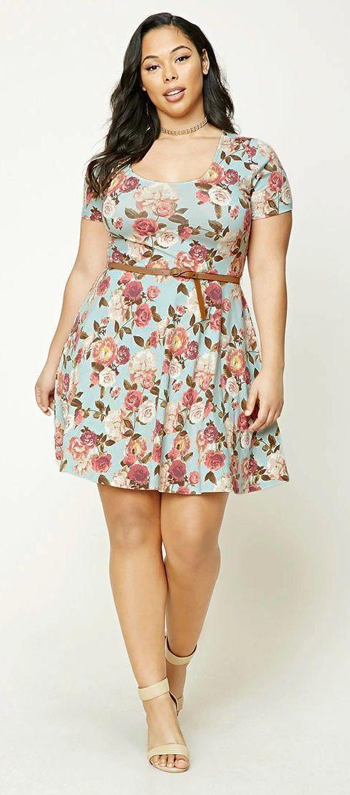 flores vestido corto gorditas