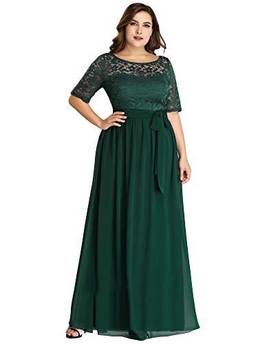 verde elegante vestido