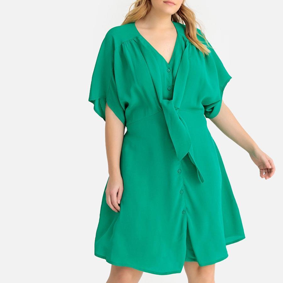 vestido verde belleza