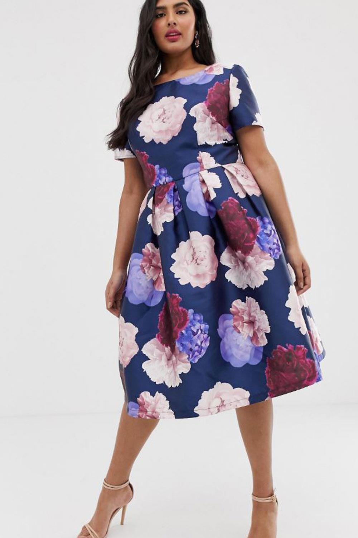 color primavera vestido